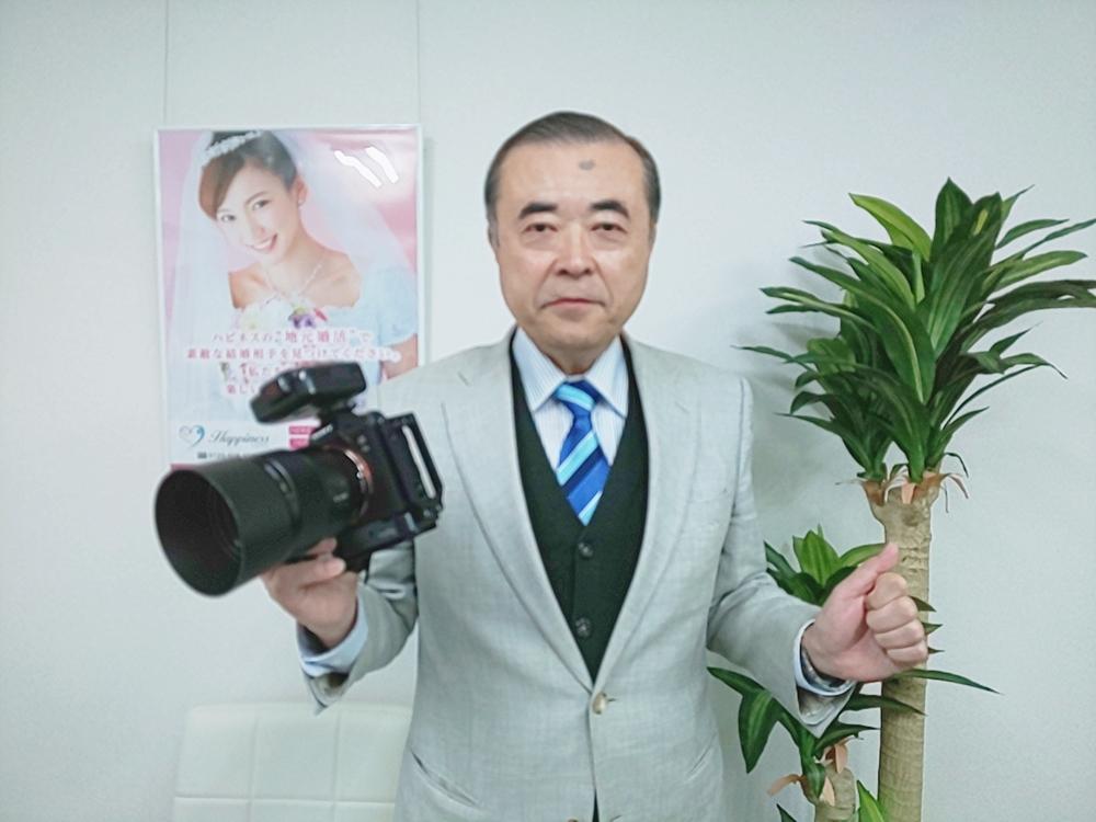 30代のとても楽しい女性が婚活をスタートされます。昨日はプロフィール写真撮影会でした。