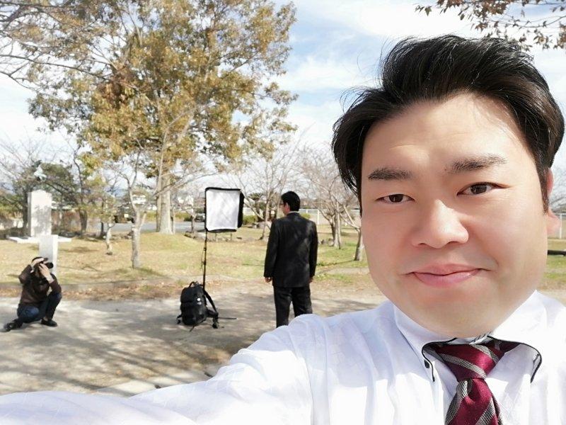 40代の誠実で優しい男性がご入会されました。プロフィール写真は近くの公園で撮影しました。