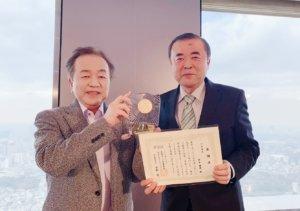 3年連続で表彰されました♬ 九州で1社のみの受賞です(*^^)v