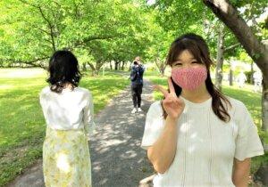 またまたおっとり癒し系の美人さんがハピネスの婚活をスタートされました。自然の中での写真撮影会です(^^♪